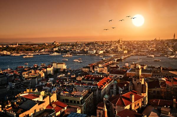 Istanbul Sunset Panorama2